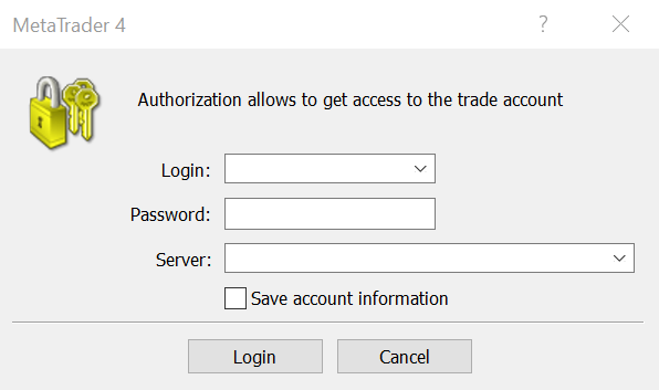Login to Trade Account